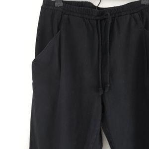 Oak + Fort Black Jogger Drawstring Pants Casual M